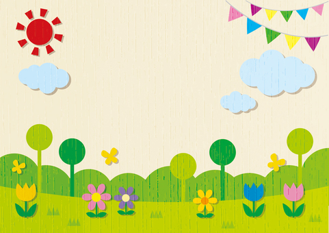 Fairy tale background frame 2