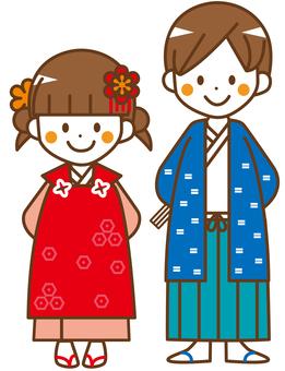 Men and women Shichigosan _ _ No.42