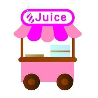 Stall of juice