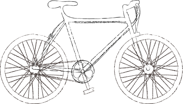 Handwritten bicycle 1