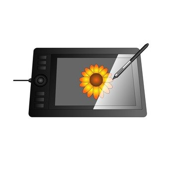 LCD pen tablet
