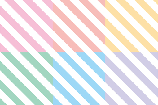 Diagonal stripe set <pale>