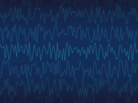 Abstract background (waved navy)