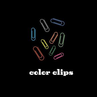 Color clip icon set