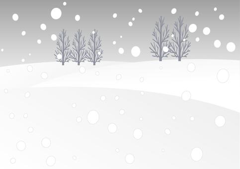 Winter landscape A