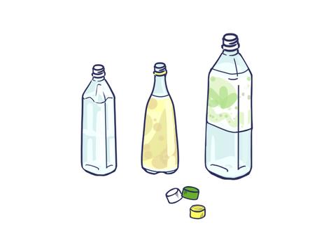 Plastic bottle empty