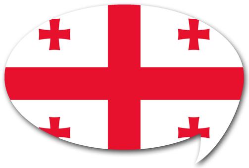 Georgian flag