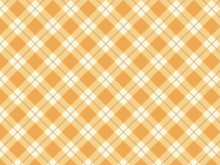 Tartan check ● Orange