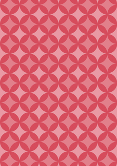 Pink polka dots background texture