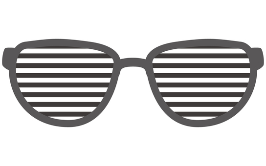 Blind sunglasses