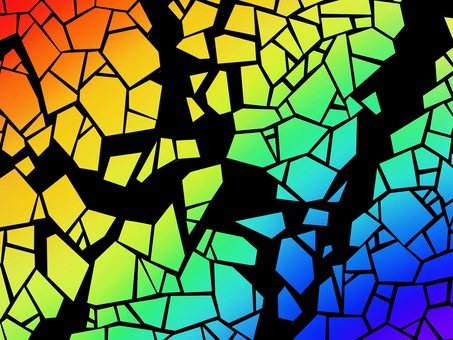 Rainbow mosaic collapse fracture