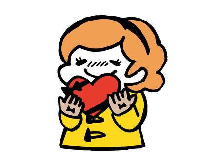 Valentine's Girl B