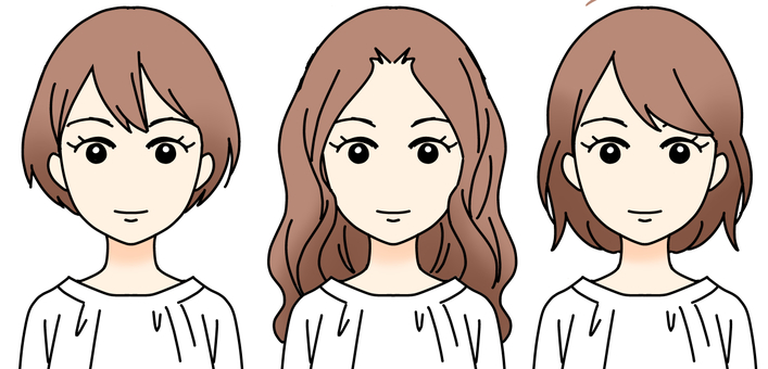 Female hairstyle