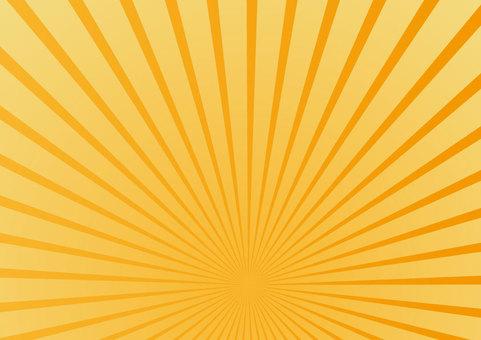 Background material Radiation Orange