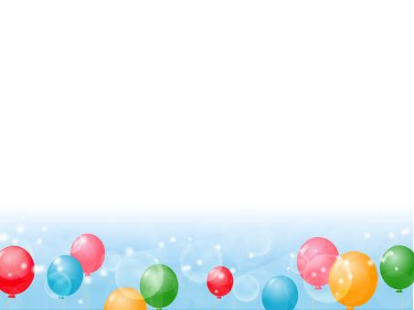 Balloon decoration frame 5