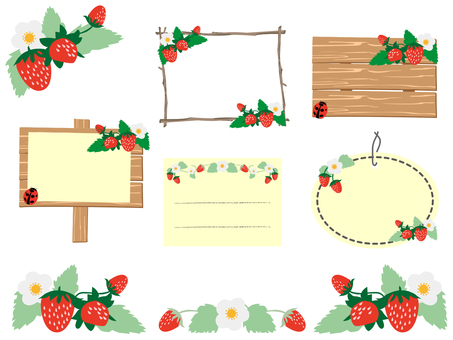 Strawberry frame set