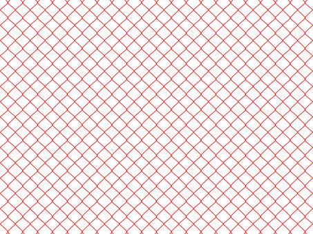 Pattern wire mesh red