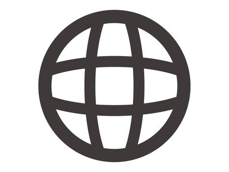 Travel icon _ Earth