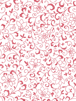 Crisp pattern background material / red