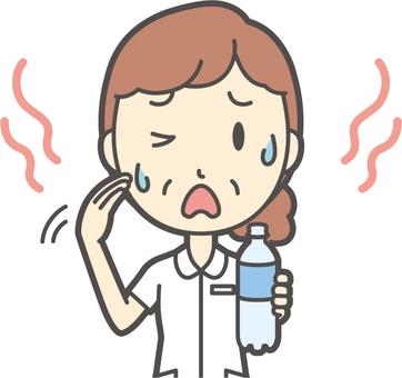 中年女護士白大褂 -  256胸圍