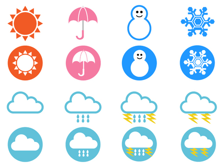 Weather mark icon