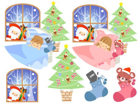 Child with Santa Claus