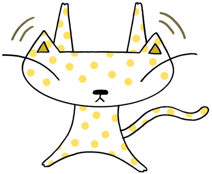 Cat character · gymnastics