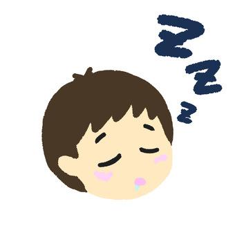 Sleep boy left