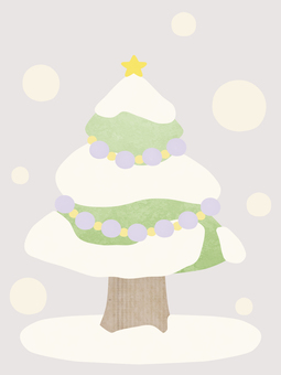 Christmas tree (gray)