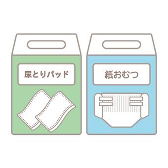 護理用品(一次性尿布和護墊的包裝)