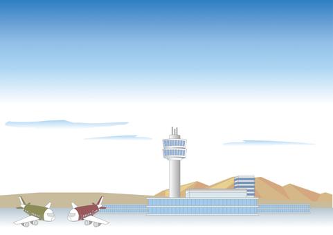 Airport landscape B
