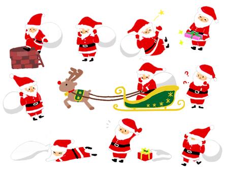Various Santa ☆ reindeer