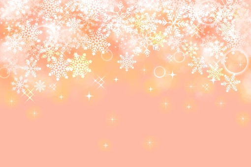 Snow background Pink
