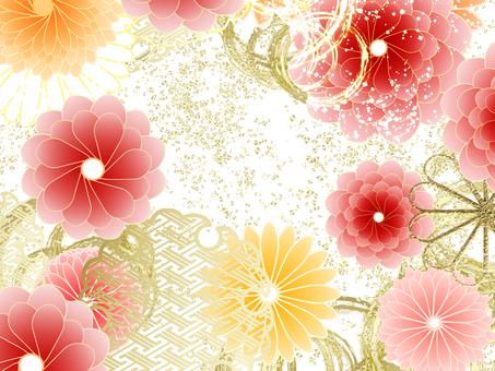 菊花圖案2