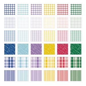 Various patterns Winter