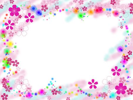 벚꽃 프레임 2