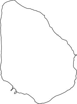 Aogashima _ line drawing