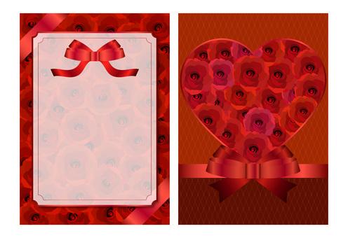 Card 002 (Red rose 01)