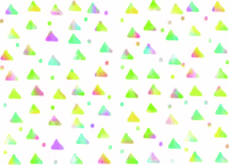 Background colorful cute triangle