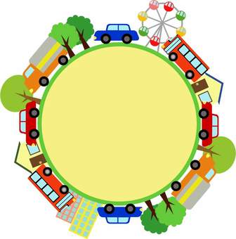 Townscape Circle frame