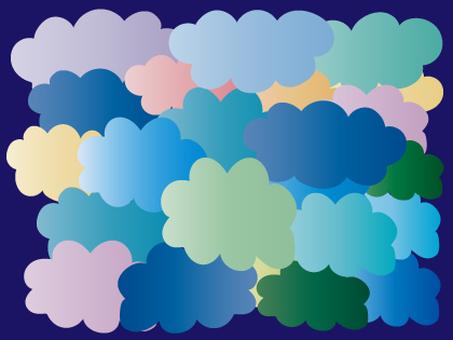 Mokumoku cloud