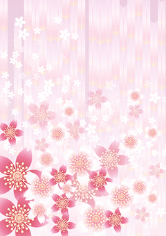 Sakura's flower & pink arrow feather 3