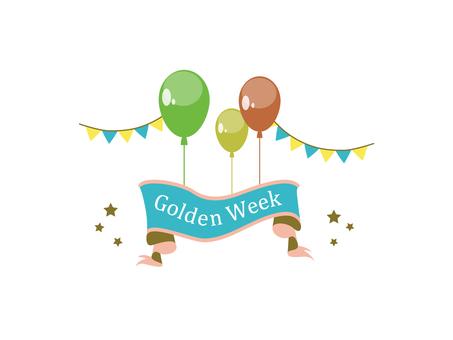 Golden week material