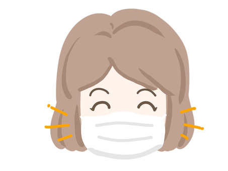 Female mask Nico Nico