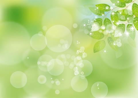 Glittering leaves 2