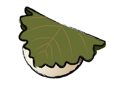 Japanese style sweets Kashiwashi