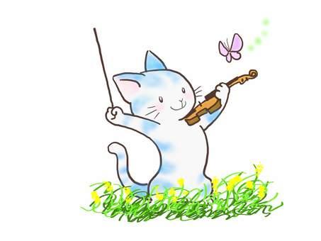 バイオリンねこ46