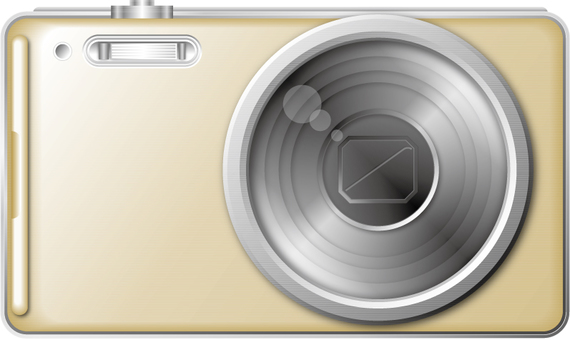 Digital camera 1 (Gold)