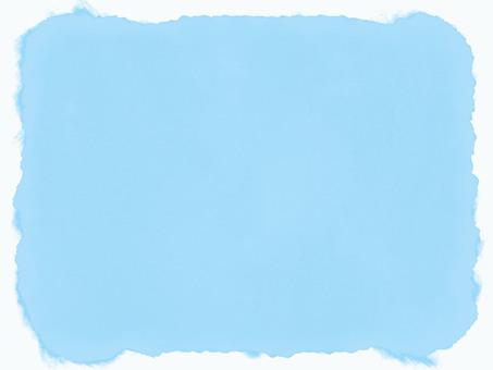 Watercolor frame · light blue