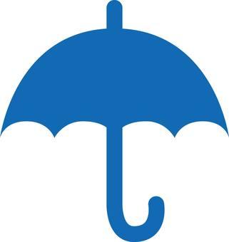 Umbrella, parasol, silhouette